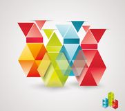 Modern Design template isometric style. Royalty Free Stock Photography
