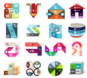 Modern design templates and elements set Royalty Free Stock Photography