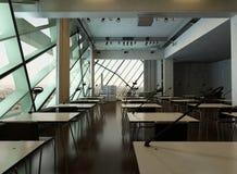 Modern design university interior / conference room Royalty Free Stock Photo