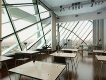 Modern design university interior / conference room Royalty Free Stock Image