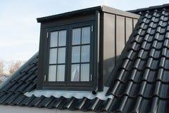 Modern vertical roof window Stock Photos