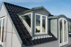 Modern vertical roof windows Royalty Free Stock Photos
