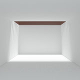 Modern Design of white interior Stock Image