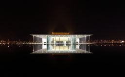Modern designed Bahrain National Theatre with 1001 seats Royalty Free Stock Photos