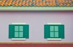 Modern designed of windows Stock Photography