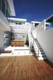 modern designer architecture home exterior Stock Photos