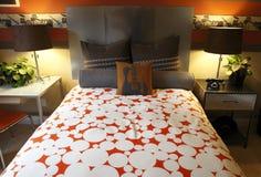 Modern designer bedroom Stock Photo