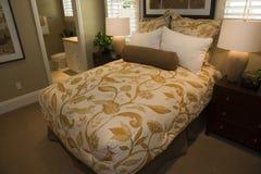 Modern designer bedroom. Stock Image