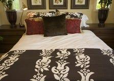 Modern designer bedroom. Stock Images