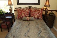 Modern designer bedroom Royalty Free Stock Photos