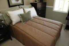 Modern designer bedroom Stock Photography