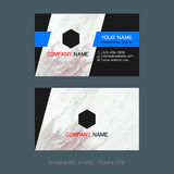 Modern designer business card layout templates. Easy to use by print a special offer or add your own logo, images, and text, whatever you want Stock Images