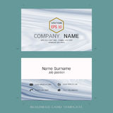 Modern designer business card layout templates. Easy to use by print a special offer or add your own logo, images, and text, whatever you want Stock Photos