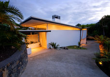 Modern, designer home Royalty Free Stock Images
