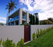 Modern designer home Royalty Free Stock Photos