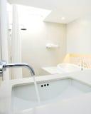 Modern designer interior bathroom spa architecture Stock Photos