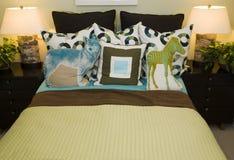 Modern designer kids bedroom. Royalty Free Stock Photos