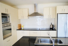 Modern designer kitchen Stock Photography