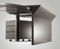 Modern desk for office interior Stock Images