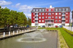 Modern development in Worcester park, Surrey Stock Photography