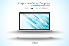 Modern devices mockups fpr your business projects Royalty Free Stock Photos