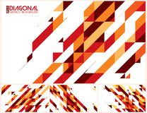 Modern diagonal abstract background. Vector. Suitable for your design element and background Royalty Free Stock Images