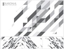 Modern diagonal abstract background. Vector. Suitable for your design element and background Stock Images