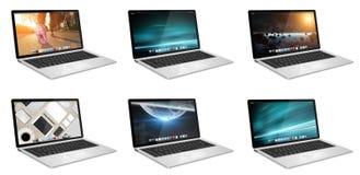 Modern digitaal technologie-apparaat Stock Afbeelding