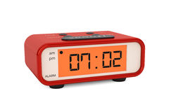 Modern Digital Alarm Clock Royalty Free Stock Images