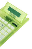 Modern digital calculator Royalty Free Stock Images