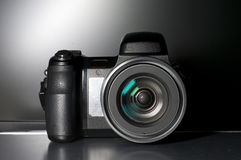 Modern digital camera Royalty Free Stock Photo