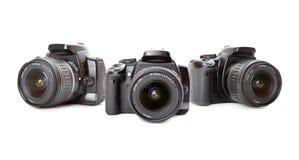 Modern digital camera Royalty Free Stock Images