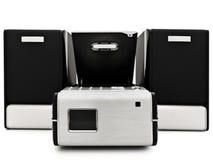 Modern digital cd player Stock Photos