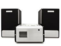 Modern digital cd player Royalty Free Stock Photo
