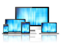 Modern digital devices Stock Photos