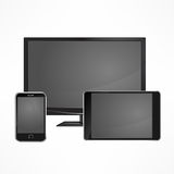 Modern digital devices Royalty Free Stock Image