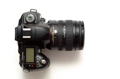 Modern digital dslr camera Stock Photo