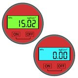 The modern digital gas manometer Royalty Free Stock Photos