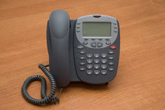 Modern digital IP phone Stock Image