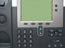 Modern Digital IP Phone Royalty Free Stock Images