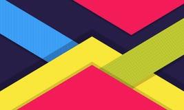 Modern Digital Material Design Background. Colorful Material Design Background, Modern Digital Design. Material Design Concept stock illustration