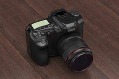 Modern Digital Photo Camera. 3d Rendering Royalty Free Stock Photography