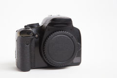 Modern digital photo camera Stock Photo