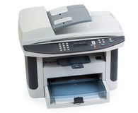 Modern digital printer royalty free stock photography