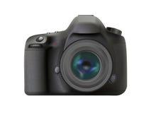 Modern digital reflex camera Stock Images