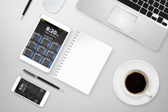 Modern digital smart phone Royalty Free Stock Photography