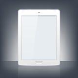 Modern digital tablet PC. Vector Illustration. Stock Photo