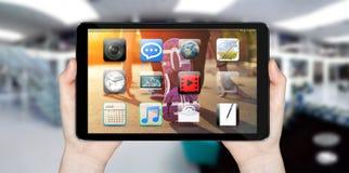 Modern digital tablet Royalty Free Stock Image
