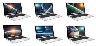 Modern digital tech device Royalty Free Stock Image