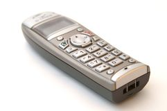 Modern digital telephone receiver Stock Images